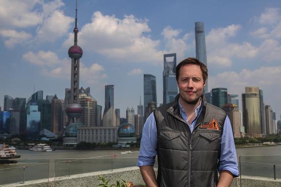 Tough Mudder 最强泥人国际障碍挑战创始人兼CEO Will Dean 在上海。