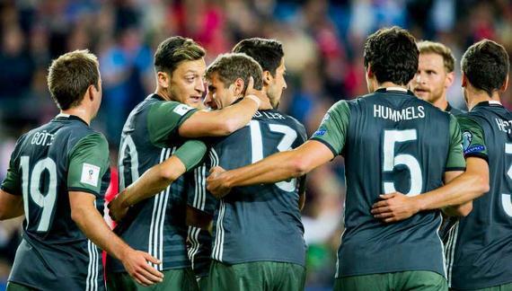 德国3-0客胜挪威