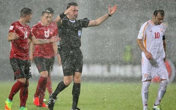 阿尔巴尼亚暂1-1马其顿