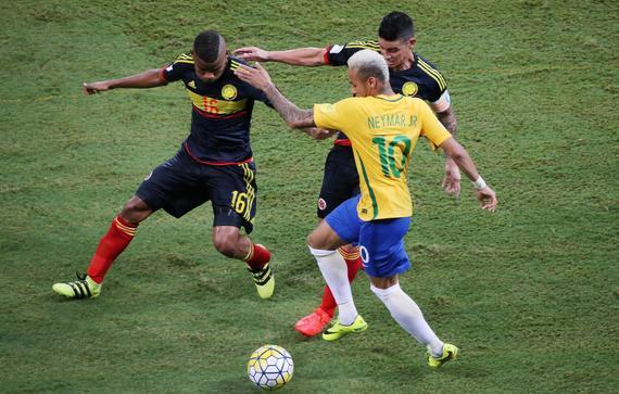 内马尔成为巴西最后的荣光
