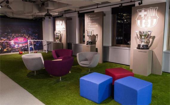 巴萨在纽约的新办公室
