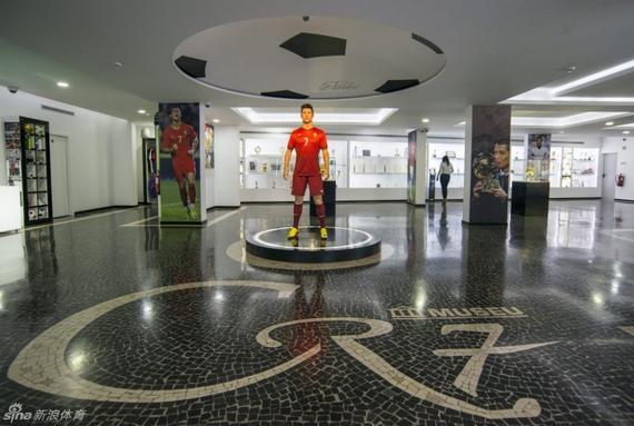 C罗在家乡丰沙尔的个人博物馆