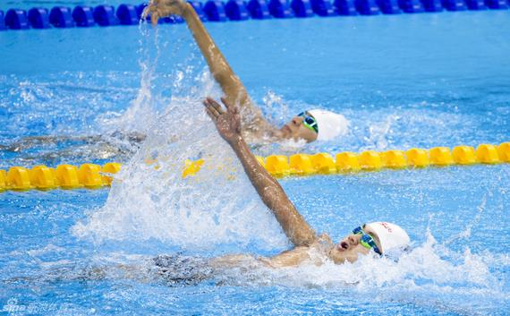 残奥游泳健儿获得37金