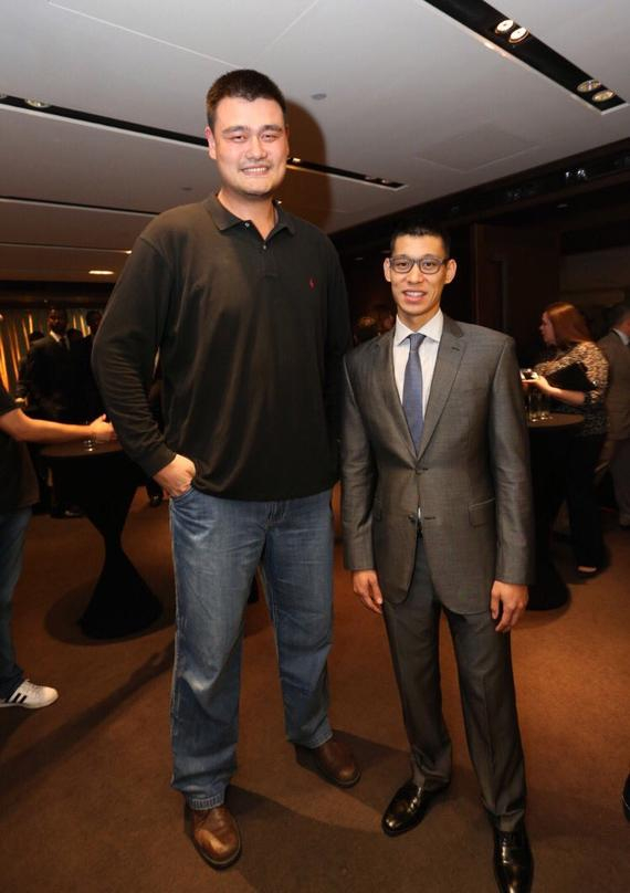 Be proud of! Jeremy Lin twitter to congratulate Yao Ming selected Basketball Hall of fame