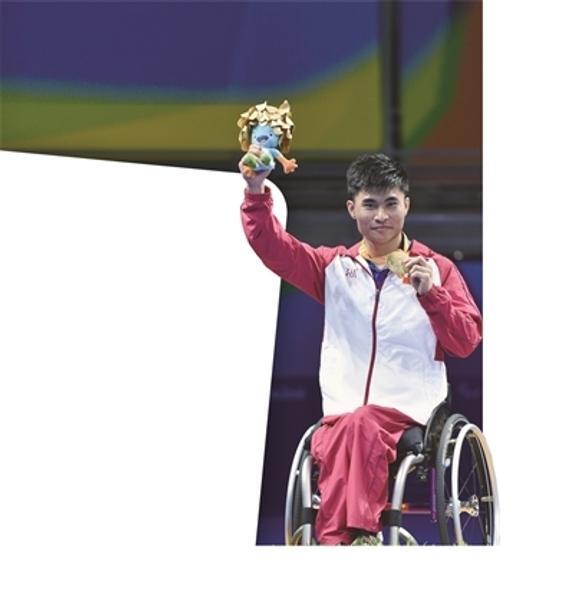 曹宁宁获得男子TT5级金牌