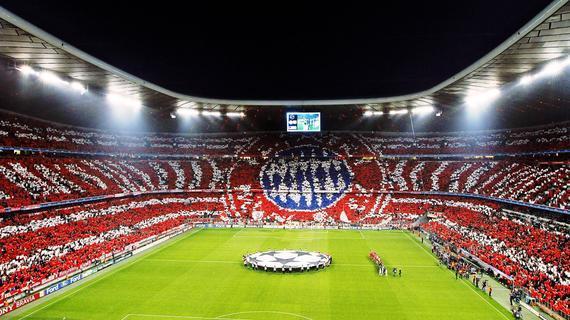 拜仁在安联球场连赢13场欧冠