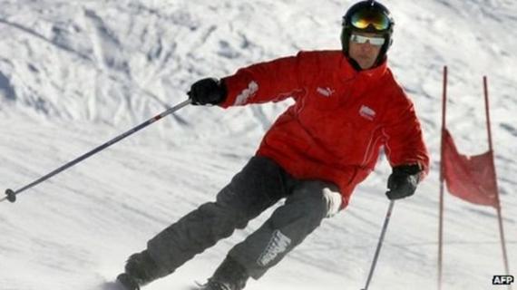 舒马赫滑雪受伤