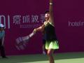 广州赛朱琳取完胜晋级第二轮 王雅繁不敌6号种子