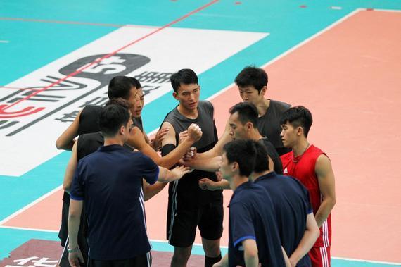 中国男排二队