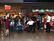第十五届残奥会中国体育代表团总结表彰大会举行