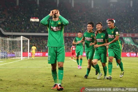 国安3-0击败延边