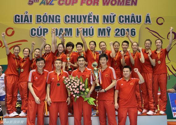 国家女排再夺亚洲杯