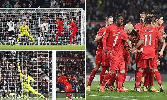 利物浦3-0客胜晋级