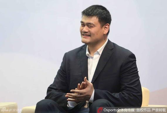姚明担任CBA公司副董事长