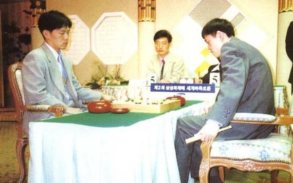 第二届三星杯半决赛 李昌镐奇迹般地半目逆转马晓春