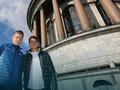 伯蒂奇参观圣彼得堡教堂 拉奥尼奇携女友游览(图)