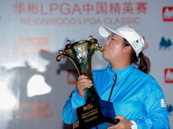 中国一姐冯珊珊@ 夺得2013年华彬LPGA赛冠军