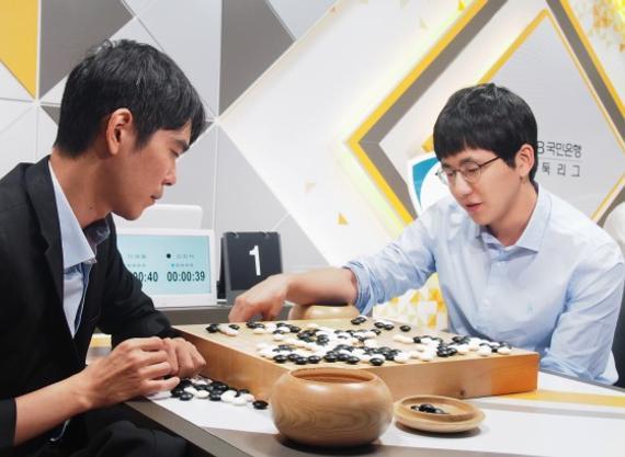 """韩联赛第14轮金志锡战胜李世石达""""百胜"""""""