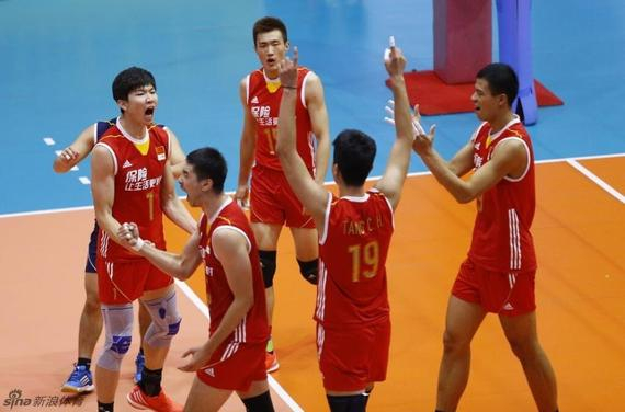 Men's volleyball Asian Cup - Chinese 3-0 wins the finals in Taipei and Iran the title