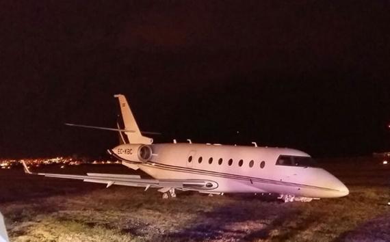 C罗豪华飞机出事故
