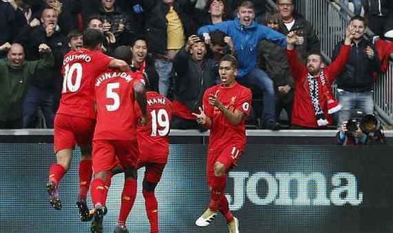 利物浦2-1逆转夺4连胜