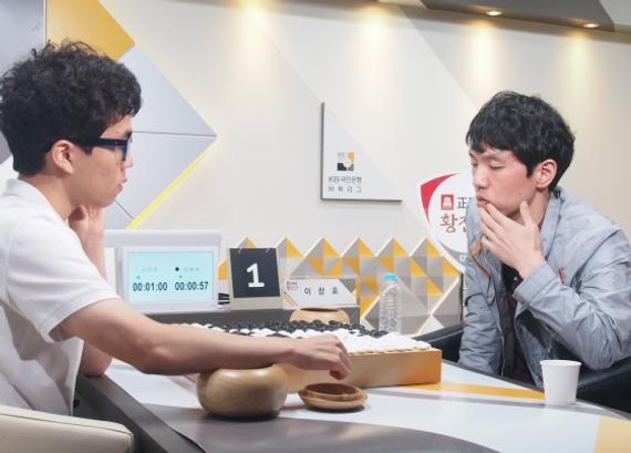 韩联赛第15轮李昌镐不敌申旻埈