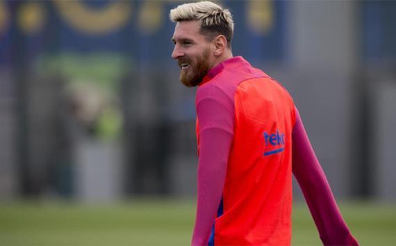 梅西已经重新回到了训练场