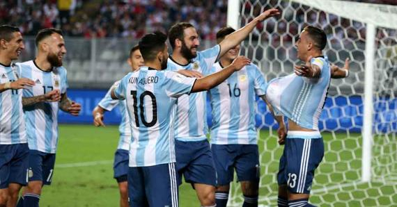 阿根廷2度领先2-2连平