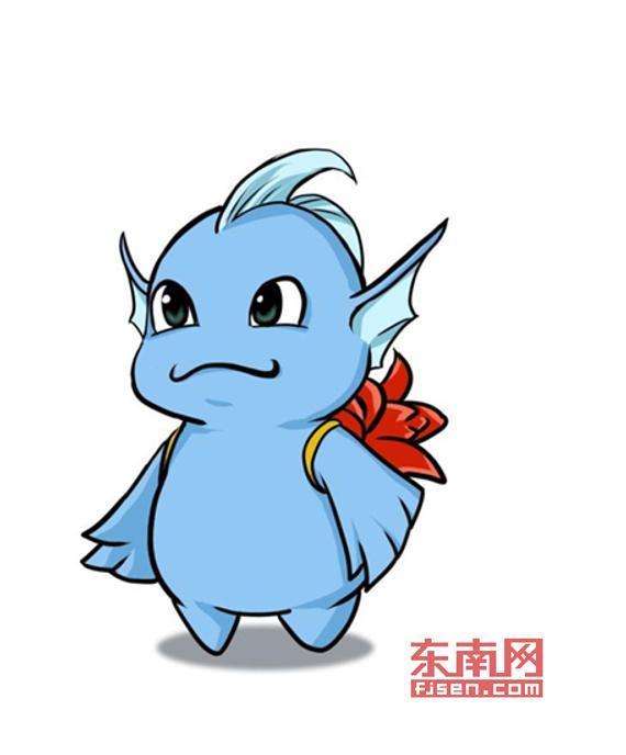 2016环湾赛吉祥物桐桐公布