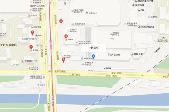 中国棋院位置