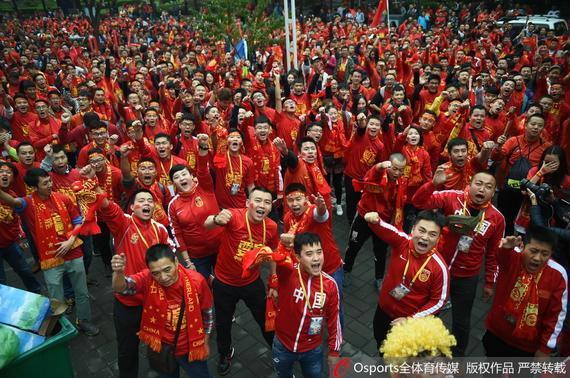 可爱的中国球迷们