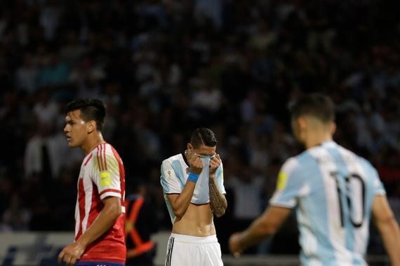 阿根廷的梅西依赖症无解