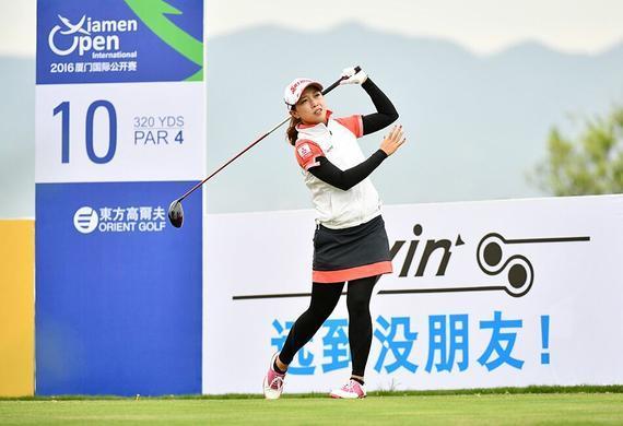 黎佳韵相信中国高尔夫会越来越好
