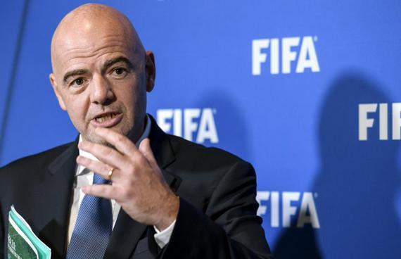 因凡蒂诺推动世界杯扩军