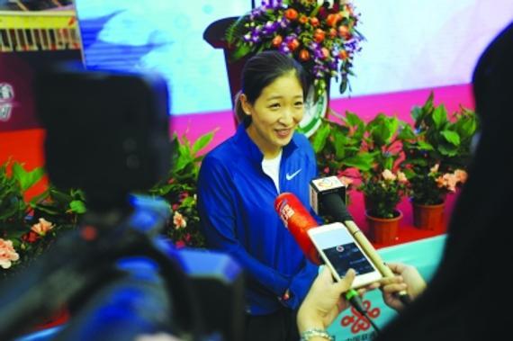 刘诗雯感受武汉人的热情       定要跟着队友吃遍美食