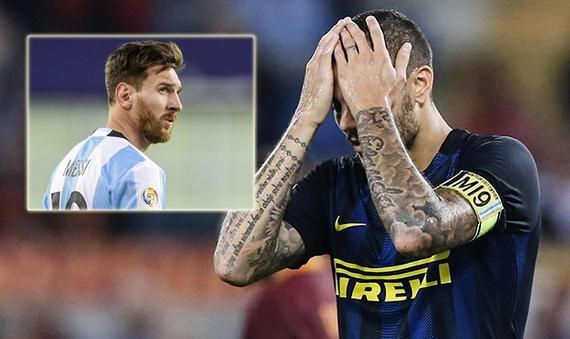 近年来,梅西一直阻挠伊卡尔迪入选阿根廷国家队