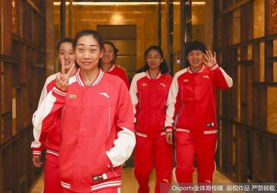 四川女篮队员