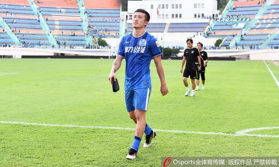 姜至鹏没有将在国足的低迷状态带回联赛