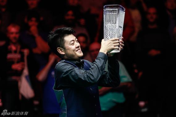 梁文博29岁首夺排名赛冠军