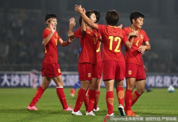 中国女足四国赛2-2平冰岛