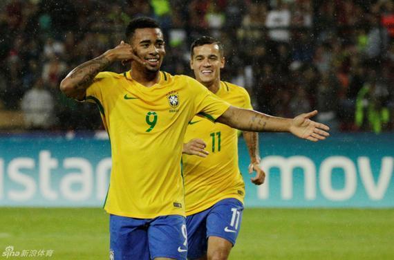 巴西刚刚击败了委内瑞拉