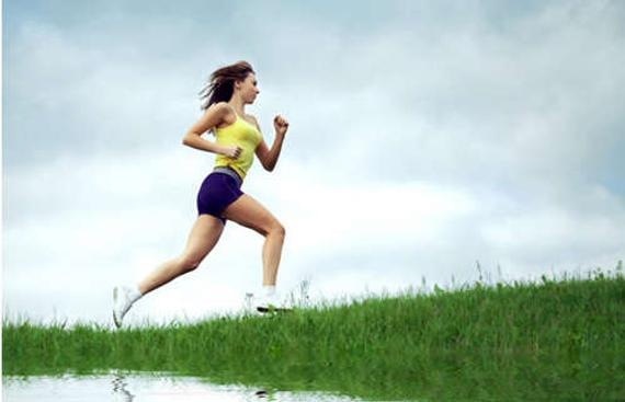 跑步是现在很多人的减肥方式