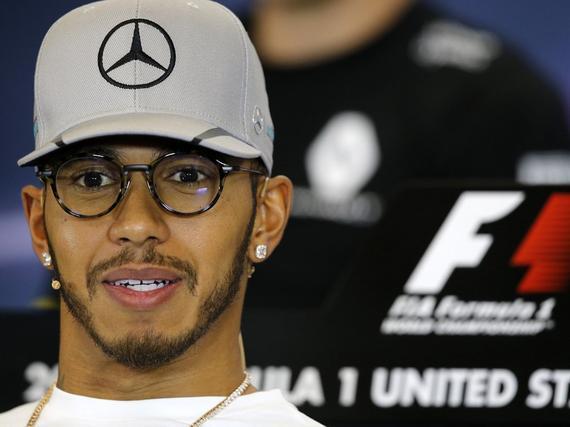 Hamilton: like men accept defeat Shielding media than I do