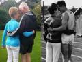52年后英奥运冠军夫妻再合影