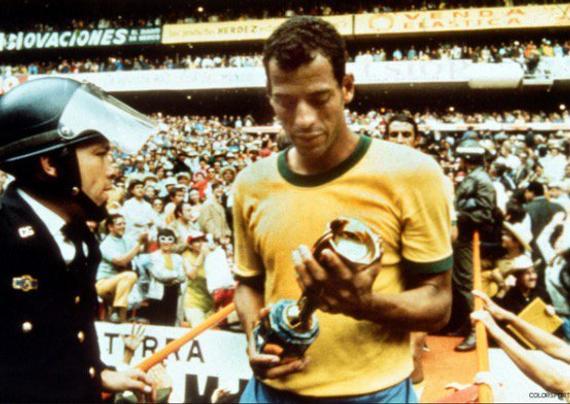 阿尔贝托率队夺得1970年世界杯