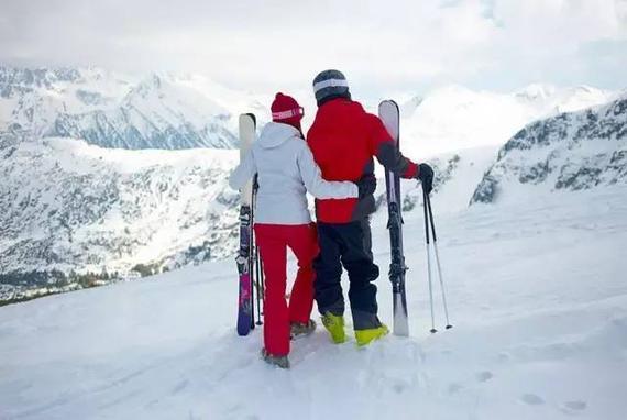 一起滑过的那些雪山