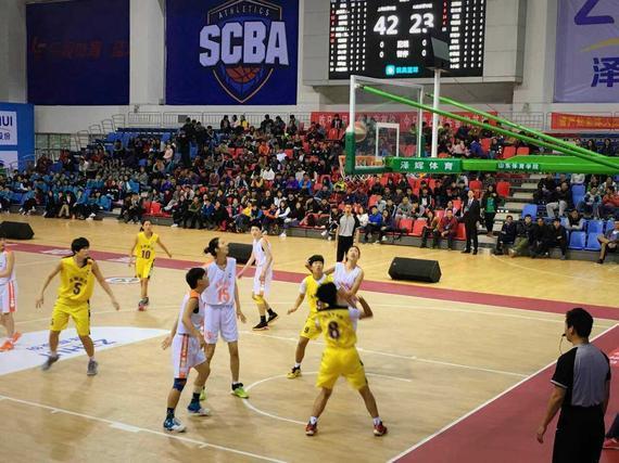 全国体育院校篮球联赛 上海体院夺女子组冠军