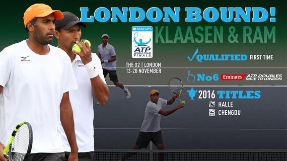 拉姆/克拉森入围ATP年终总决赛 双打仅两席空缺