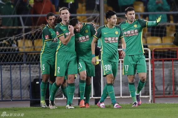 国安3-1战胜对手