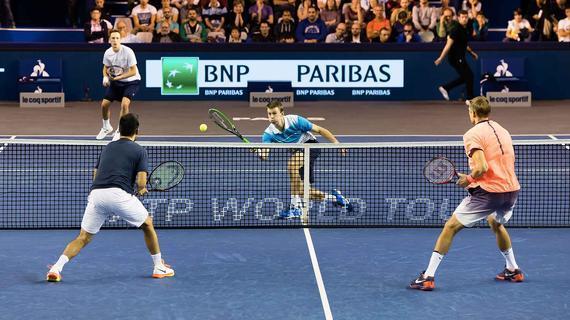 孔蒂恩/皮尔斯入围ATP年终总决赛 男双仅剩一席